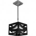 Ceiling Lamp CEPHEUS 1xE27 L.22xW.22xH.Reg.cm Acrylic Black