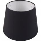 Lampshade BRITANICO round & conic with fitting E27 H.15xD.20,5cm Black