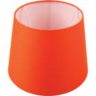 Lampshade BRITANICO round & conic with fitting E27 H.20xD.25,5cm Orange