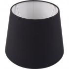 Lampshade BRITANICO round & conic with fitting E27 H.20xD.25,5cm Black