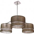 Ceiling Lamp JAQUELINE 3xE27 H.Reg.xD.80cm Brown