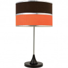 Table Lamp OLGA medium 1xE27 H.61xD.35cm Orange/Brown