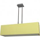 Candeeiro de tecto ROSI 4xE14 C.75xL.20xAlt.Reg.cm Verde/Cromado