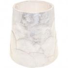 Pantalla NACAR redondo cónico pequeño con encaje E14 Al.13,5xD.14,5cm Nácar