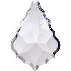 Crystal pendluque 7,6x5,2cm 1 hole transparent (Box)