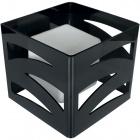 Candeeiro de mesa CEPHEUS 1xE27 C.22xL.22xAlt.20cm Acrílico Preto