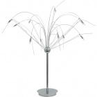 Table Lamp AMÉLIA 12xG4 12V H.74xD.90cm Chrome