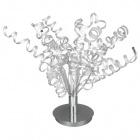 Table Lamp TARFAYA 6xG4 12V H.90xD.60cm Chrome