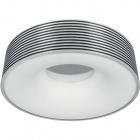 Plafond BAYEUX round 1xG10q T5 circ. H.12xD.45cm Aluminium/Brown