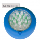 Night Lamp FEBE magnetic base with hook 1x1,5W LED W.7H.3xD.7cm Blue