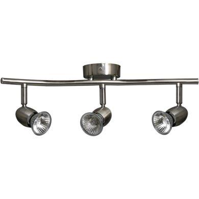 Wall Lamp SONORA 3xGU10 L.44xW.9xH.14cm Satin Nickel