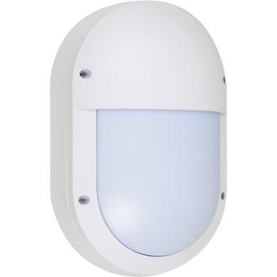 Aplique PARANA grande IP54 1xE27 L.18,5xAn.9xAl.28cm Aluminio + Policarbonato (PC) Blanco