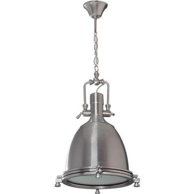 Lámpara de Techo GABOR 1xE27 Al.Reg.xD.35cm Niquel