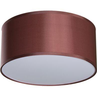 Plafond NICOLE 2xE27 H.18xD.30cm Chocolate