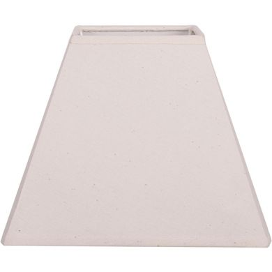 Lampshade DANIA square prism flat with fitting E27 L.25xW.25xH.18,5cm Beije