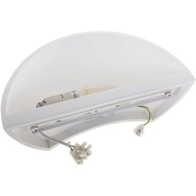 Aplique ELINE 1xE14 C.30xL.15xA.10cm yeso blanco