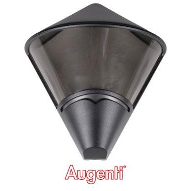 Aplique TETRA IP44 1xE27 L.27,5xAn.14,5xAl.31cm Negro