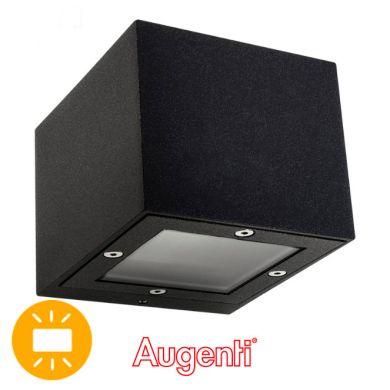 Aplique GINEVRA IP65 1xG9 L.9,5xAn.11xAl.8,2cm Aluminio+Vidrio Antracita