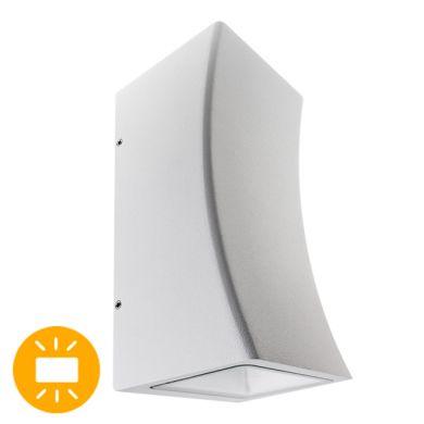 Aplique PARIN IP54 2x6W LED 750lm 4000K L.9,7xAn.9xAl.20cm Aluminio Blanco