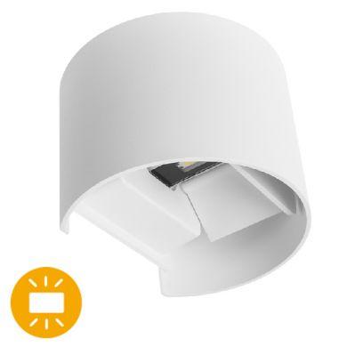 Aplique SIMONTE IP54 2x3W LED 560lm 4000K L.14xAn.11,5xAl.10cm Blanco