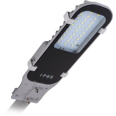 Aplique PASTEUR IP65 1x15W LED 1800lm 6000K L.9,5xAn.35xAl.5cm Gris