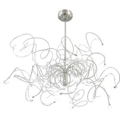 Ceiling Lamp CÉLIA 20xG4 12V H.Reg.xD.90cm Satin Nickel