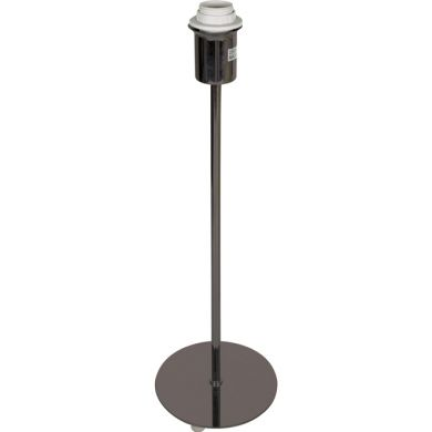 Base for Table Lamp PIC round 1xE14 H.42xD.13cm Satin Nickel