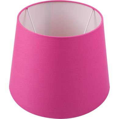 Lampshade BRITANICO round & conic with fitting E27 H.15xD.20,5cm Pink