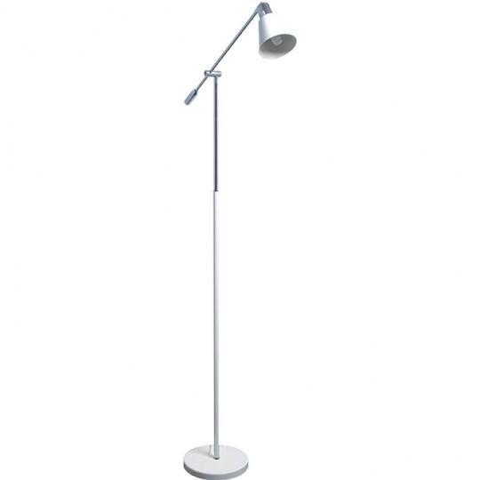 Lámpara de Pie SETUBAL 1xE14 L.21,5xAn.61xAl.160cm Blanco