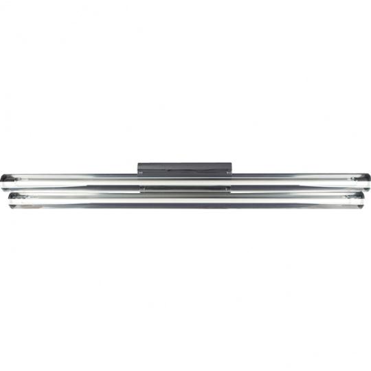 Plafond AGUAMARINA 2x54W G5 T5 L.120xW.14,5xH.11cm Chrome