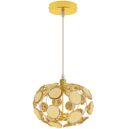 Pendant Light AYLLA 1xE14 H.Reg.xD.25cm Gold