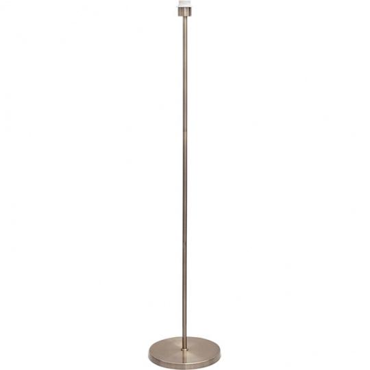 Armazón para Lámpara de Pie MALDIVAS 1xE27 Al.147xD.25cm Cuero