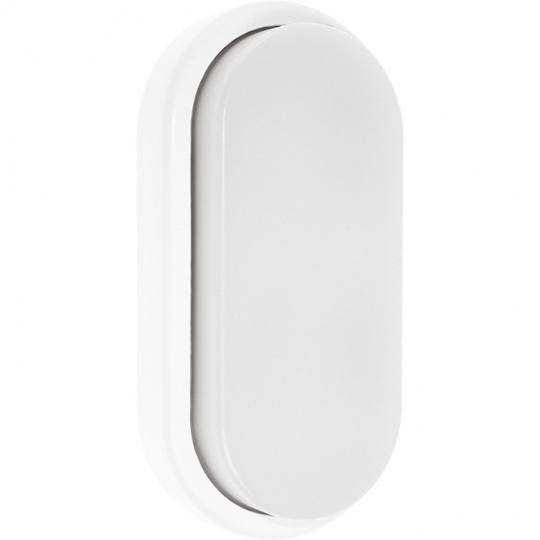 Aplique SURF ECOVISION oval IP65 1x12W LED 960lm 6400K 120°L.10xAn.5xAl.20cm Plicarbonato (PC) Blanc
