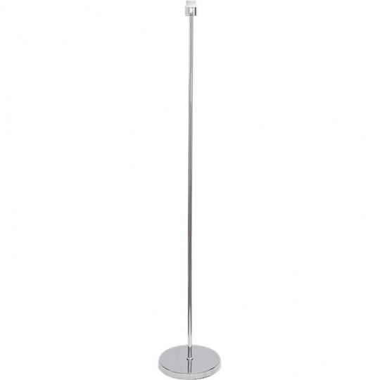 Armazón para Lámpara de Pie MALDIVAS 1xE27 Al.147xD.25cm Cromo