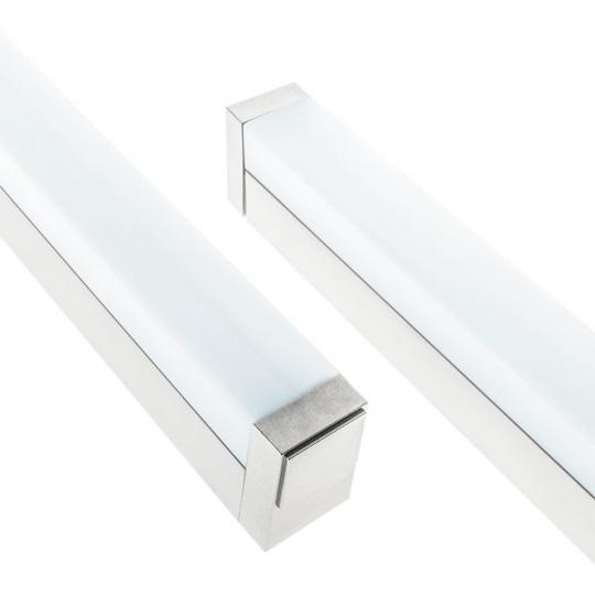 Wall Lamp TICIANO 1x18W LED 1109lm 4000K L.90,5xW.4xH.6cm Silver