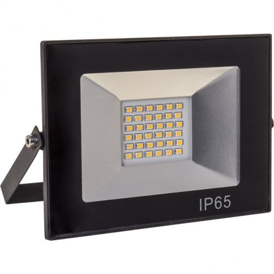 Proyector TOBOL IP65 1x30W LED 1500lm 6500K 120°L.14,5xAn.3xAl.10,5cm Negro