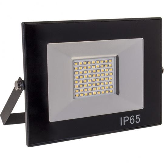 Proyector TOBOL IP65 1x50W LED 2500lm 4000K 120°L.19xAn.3,2xAl.13,7cm Negro