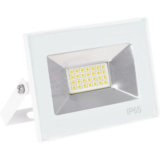 Proyector TARIN IP65 1x20W LED 1000lm 3000K 120°L.11,5xAn.3xAl.8,5cm Blanco