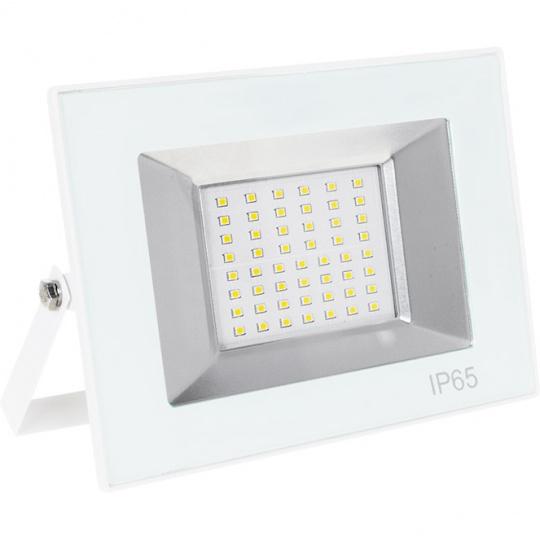 Proyector TARIN IP65 1x50W LED 2500lm 4000K 120°L.19xAn.3,2xAl.13,7cm Blanco