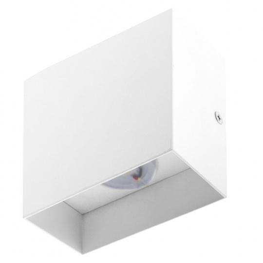 Wall Lamp ESME 1x6W LED 500lm 4000K L.10xW.5xH.10cm White