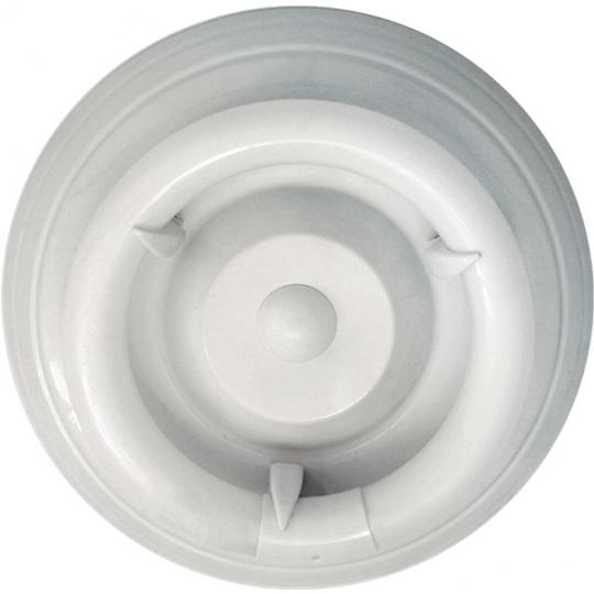 Plafond CIRCE round with nail 1xG10q T9 circ. H.9xD.28cm White
