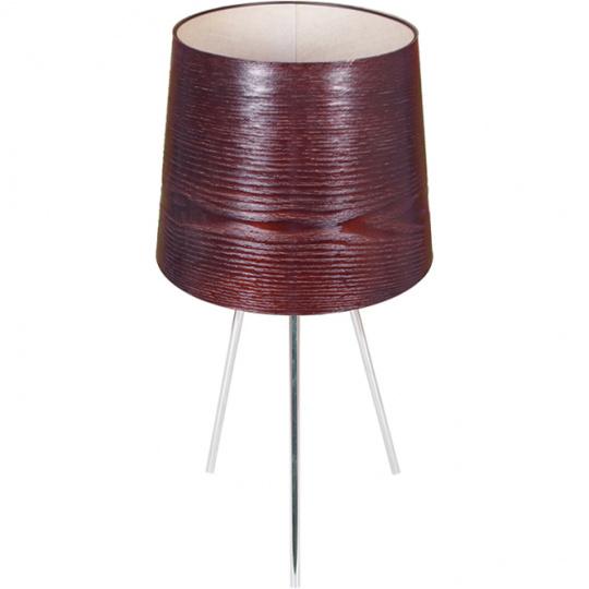 Table Lamp TRIPÉ 1xE27 H.50xD.26cm Wengue/Chrome