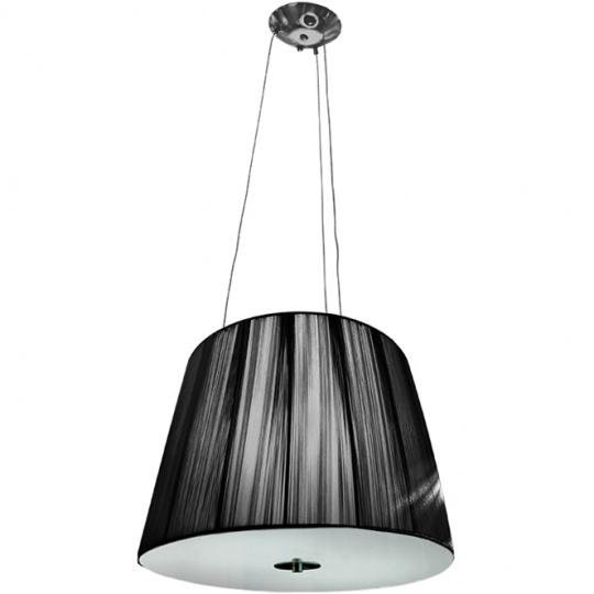 Pendant Light ADRIANA 2xE27 H.Reg.xD.40cm Black